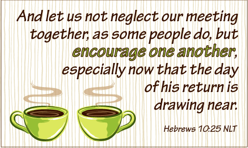 Hebrews 10 25