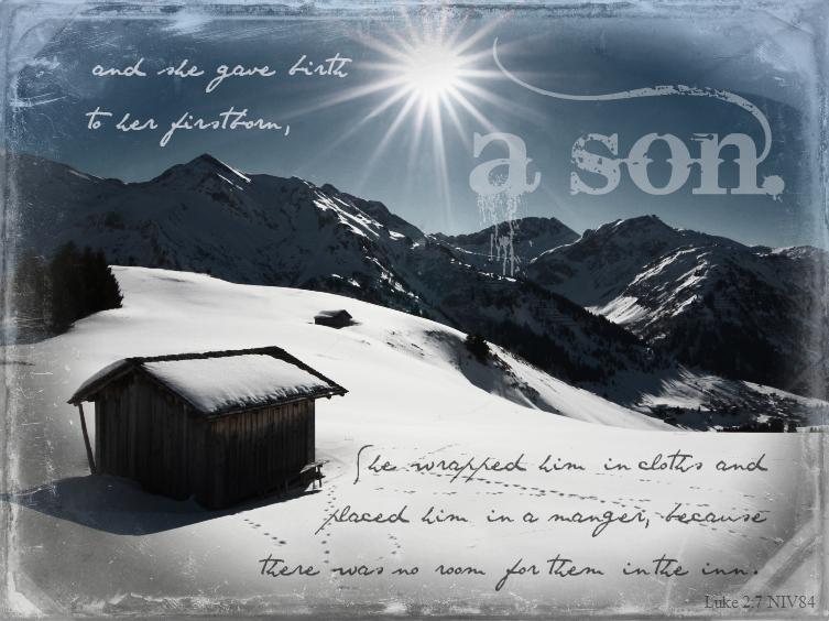 christmas scripture art luke 27 - Christmas Scriptures