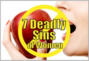 7 deadly sins of women