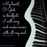 Scripture Art: Psalm 108:1