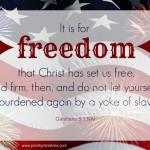 Scripture Art: Galatians 5:1