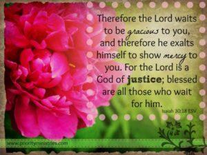 Isaiah 30:18 ESV