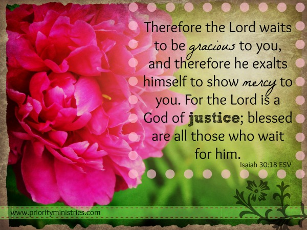 Image result for Isaiah 30:18