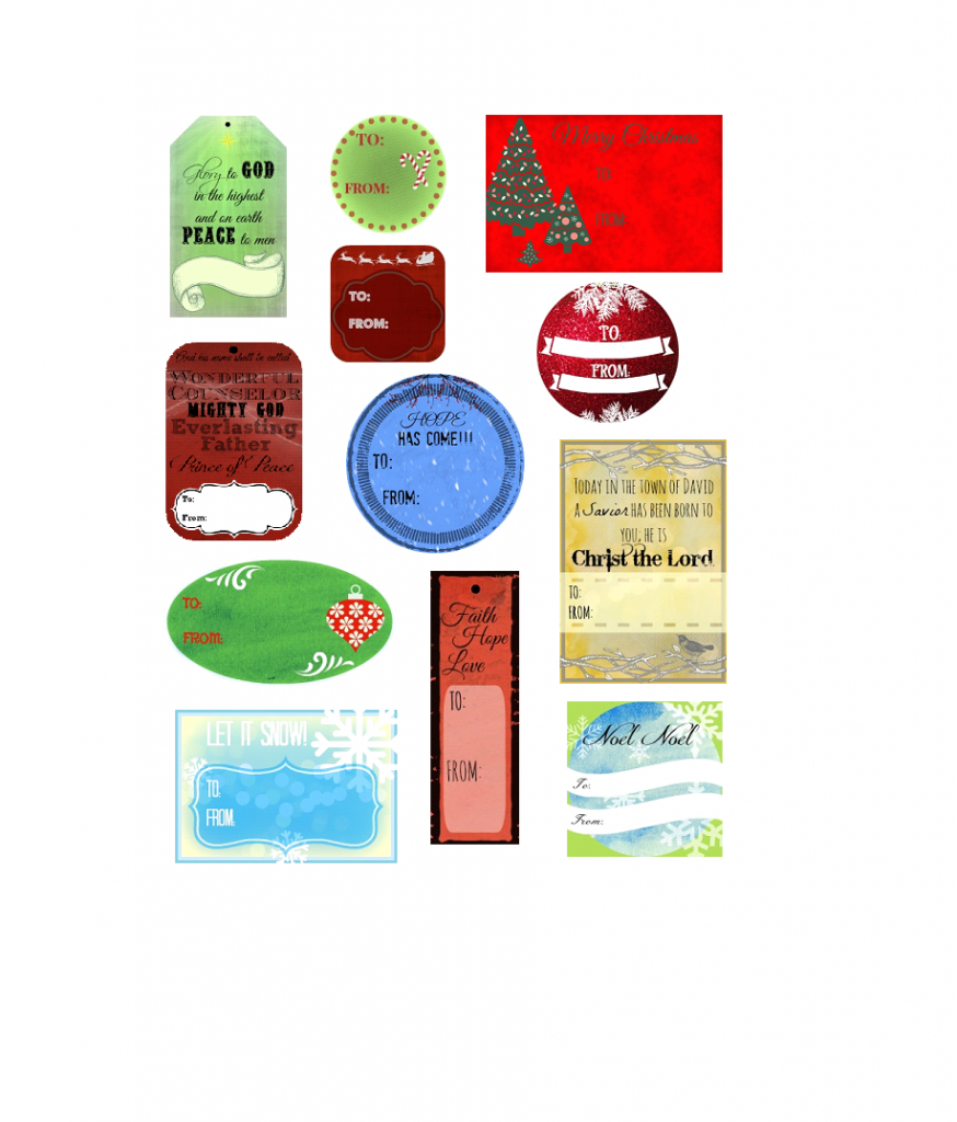 picture regarding Christmas Tag Printable identified as Cost-free Reward Tag Printable - Christian Womens Web site