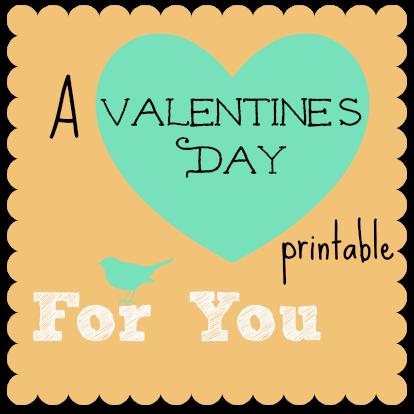 A Valentineu0027s Day Printable