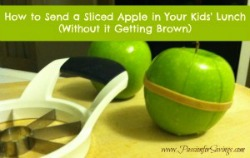 15 life hacks and ideas that every mom should know - apple rubber band