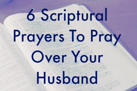 6 prayers husband