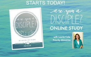 Welcome to My Kitchen & the Are You a Disciple? Online Study!