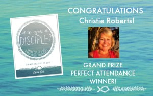 Announcing our Grand Prize Winner!