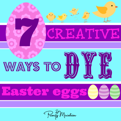 7 creative ways to dye Easter Egg