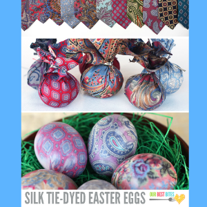 7 Creative Ways to Dye Easter Eggs - Silk Dyed Eggs