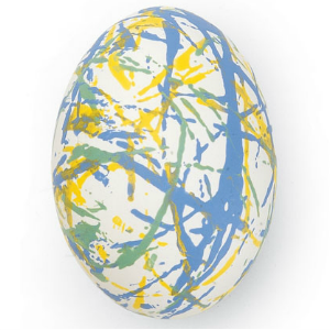 7 Creative Ways to Dye Easter Eggs - String Dyed Easter Eggs