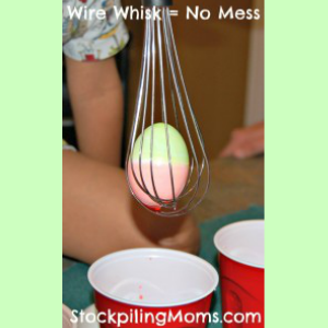 7 Creative ways to dye Easter eggs - mom tip - whisk